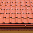 Foto Stock: Red roof