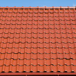Red roof with blue sky — Stock Photo #30288423
