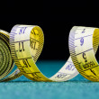 Stock Photo: Measure tape