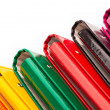 Stock Photo: Colorful office folders