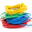 Multicolored cable — Stock Photo #30298641