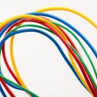 Multicolored cable — Stock Photo