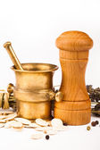 Various spices equipment — Stock Photo