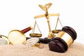 Judge gavel — Stock Photo