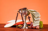 Holy Communion composition — Stock Photo