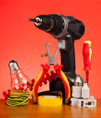 Electrician's tools — Stockfoto