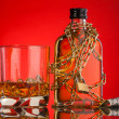 Stock Photo: Whisky composition