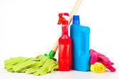 Equipamentos de limpeza — Fotografia Stock