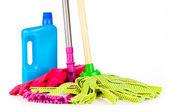Attrezzature per la pulizia — Foto Stock