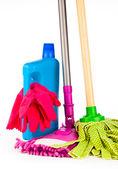 оборудование для очистки — Стоковое фото