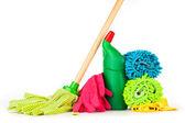 Cleaning equipment — Stock Photo