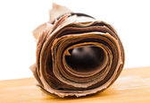Role of newspapers — Stock Photo