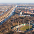 Stock Photo: Wroclaw Odrriver