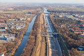 Wroclaw Odra river — Stock Photo