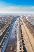 Wroclaw odra rivier — Stockfoto