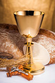 Holy communion — Foto Stock