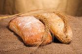 烤的面包 — 图库照片