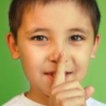 Hush! keep silence and secret! — Stock Photo #14028456