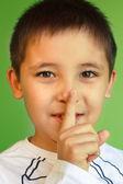 Hush! keep silence and secret! — Stock Photo