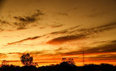 Evening skies — Stock Photo