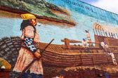 Wall paintings — Stock Photo