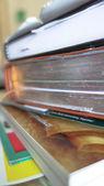 Books for college — Stock Photo