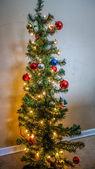 Kerst boom — Stockfoto