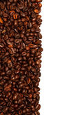 Coffee beans background isolated white — Stock Photo