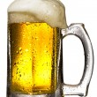 Royalty-Free Stock Photo: Mug of beer isolated on white