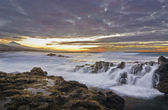 Waterfall of sea — Fotografia Stock