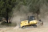 Bulldozer — Foto Stock