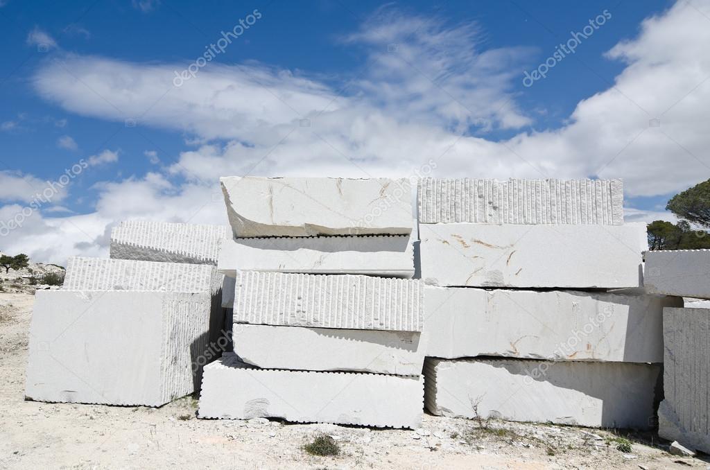 Granite Stone Blocks Stone Blocks Stacked in a