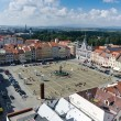 Square of Ceske Budejovice — Stock Photo