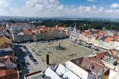 Square of Ceske Budejovice — Stock Photo