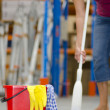 Cleaning business warehouse — Stock Photo #12707521