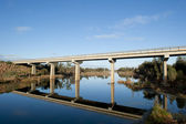 Highway bridge outback Western Australia — Stock Photo
