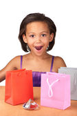 Diamante y regalos — Foto de Stock