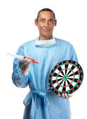 Targeting health care — Stock Photo
