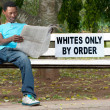 Stock Photo: Racial discrimination