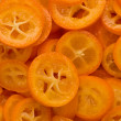 Stock Photo: Kumquat Slices