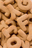 Alphabet Cookies — Stock Photo
