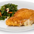 Chicken Cordon Bleu — Stock Photo
