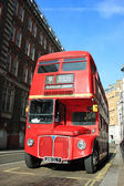 1962 Red London Bus — Stock Photo