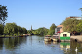 Boats on the River at Stratford-upon-Avon — Stock Photo