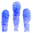 Blue fingerprint — Stock Photo #37810595