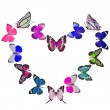 Butterfly heart  — Stock Photo #43686203