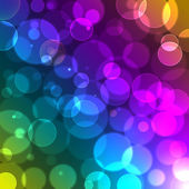 Colorful bokeh — Stock Photo