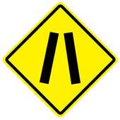 Trafik skylt — Stockfoto