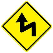 Dopravní značka — Stock fotografie