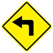 дорожный знак — Стоковое фото